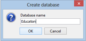 Sedna_Admin_Create_Database